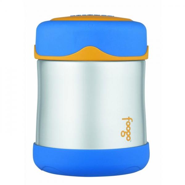 Thermos Foogo kojenecká termoska na jídlo modrá  ae5734c521d