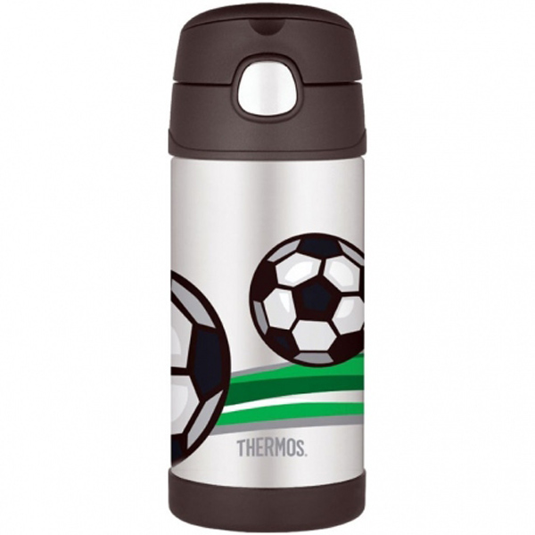 Thermos FUNtainer 355ml termoska s brčkem Fotbal