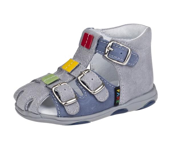 Fare dětské sandálky modré 568163 vel. 23  b5e0818818