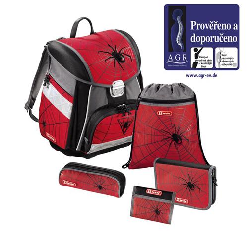 Hama Step by Step školní 5dílný set Červený pavouk