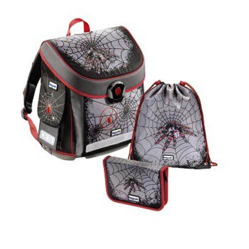 Baggymax školní aktovka- 3- dílný set CANNY Pavouk