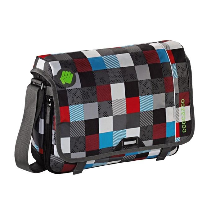 """Coocazoo taška přes rameno HangDang 15,6"""" Checkmat"""