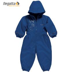 Regatta dětská zimní kombinéza Splosh modrá 6-12 m