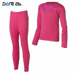 Dare2b dětské funkční prádlo růžové