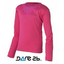 Dare2b dětské funkční tričko růžové 13-14 let