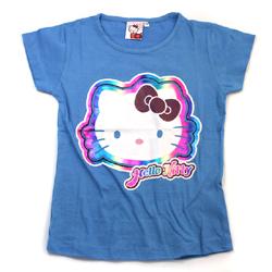 Hello Kitty světle modré tričko s krátkým rukávem