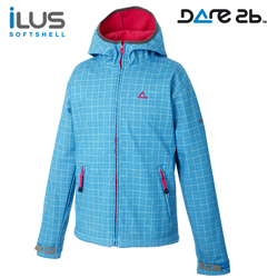Dare2b softshell. bunda HippetyHop Print 9-10 let