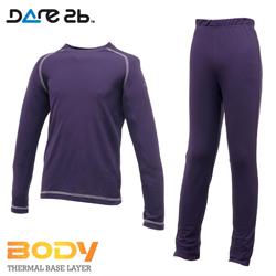 Dare2b dětské funkční prádlo CoolOff grape