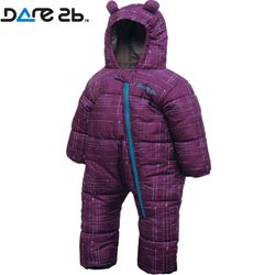 Dare2b dětská zimní kombinéza Bugaloo Purple 0-6 m