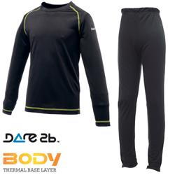 Dare2b dětské funkční prádlo Cool off Black