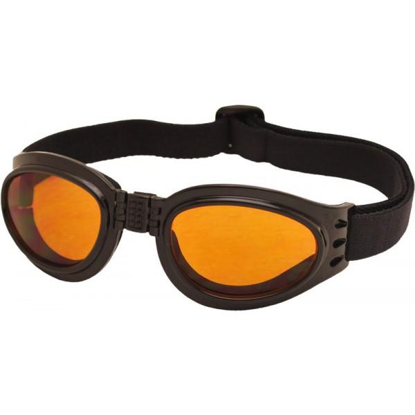 TT-BLADE FOLD zimní skládací brýle, črný lesk