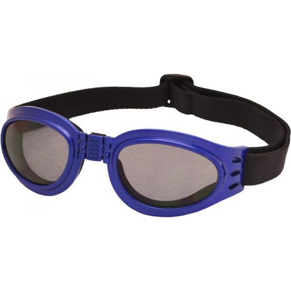 TT-BLADE FOLD zimní skládací brýle, metal. modrá