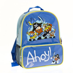 BUGZZ dětský batůžek s kapsou Pirát