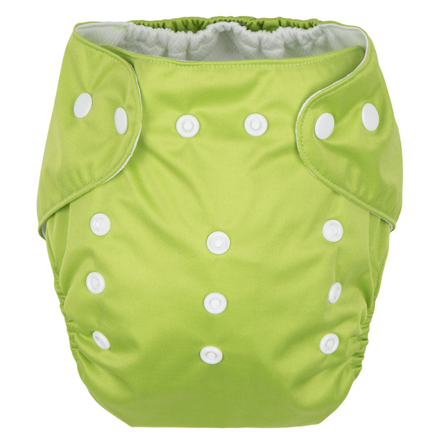 GMINI Plenkové kalhotky zelené Uni