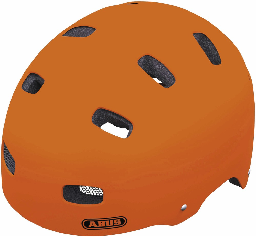 ABUS dětská helma ScraperKid signal orange 48-55cm