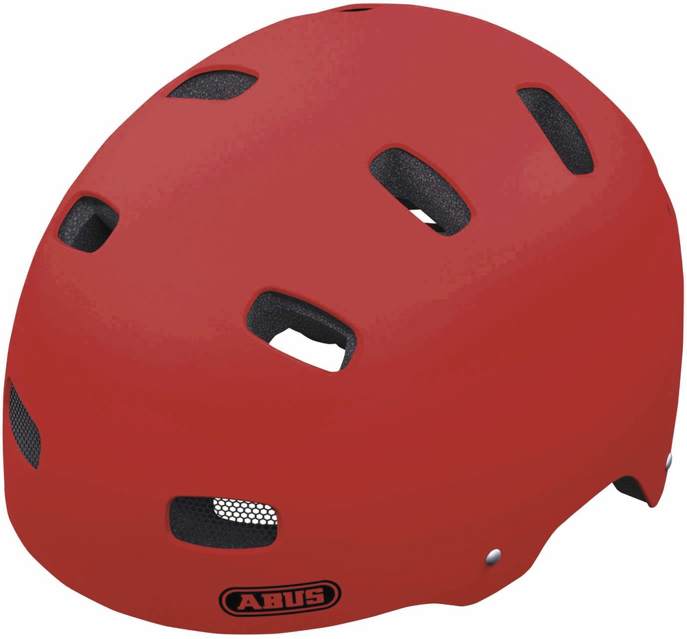 ABUS dětská helma Scraper Kid red matt 48-55 cm