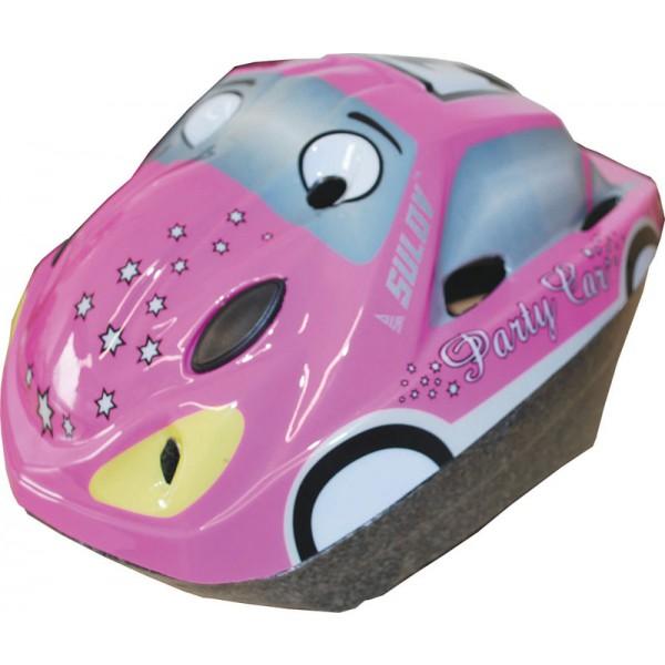 Dětská cyklo helma SULOV CAR, růžová, M 52-56cm