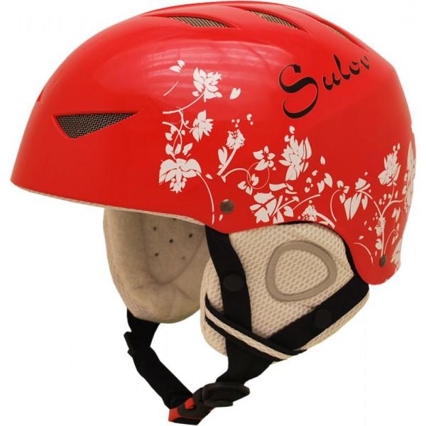 SULOV lyžařská helma AIR, červená