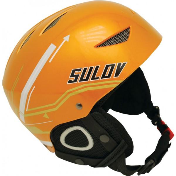 SULOV lyžařská helma AIR, oranžová