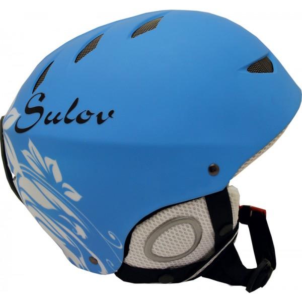SULOV lyžařská helma AIR, modrá