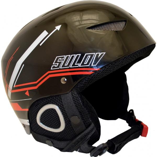SULOV lyžařská helma AIR, černá