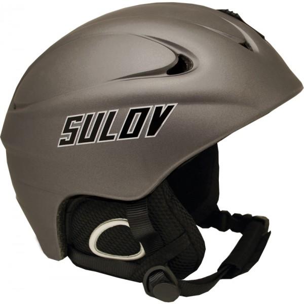 Lyžařská přilba SULOV REVOLT XL (61-62), stříbrná