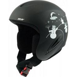 SULOV lyžařská helma CHILD, černá