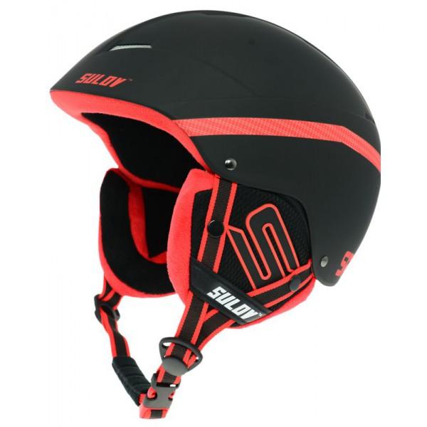 SULOV lyžařská helma SPHARE, černá mat