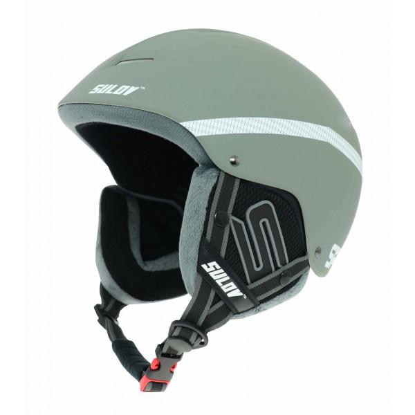 Lyžařská helma SPHARE L/XL 58-61 cm stříbrná