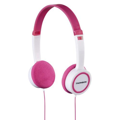 Dětská sluchátka Thomson HED1104 růžová