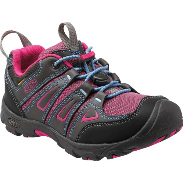 KEEN OAKRIDGE LOW WP K,JR, magnet/very berry