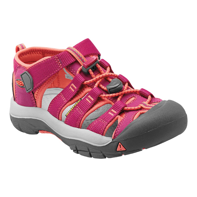 KEEN NEWPORT H2 JR, very berry/fusion coral