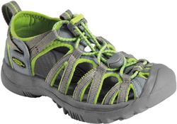 KEEN Whisper JR neutral gray/sap green