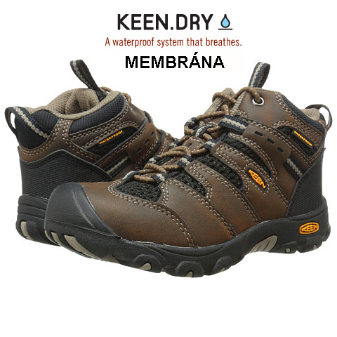 KEEN Koven Mid WP cascade brown/black