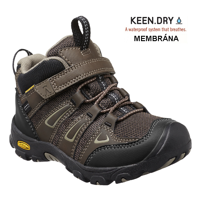 Keen OAKRIDGE Mid WP cascade brown/brindle