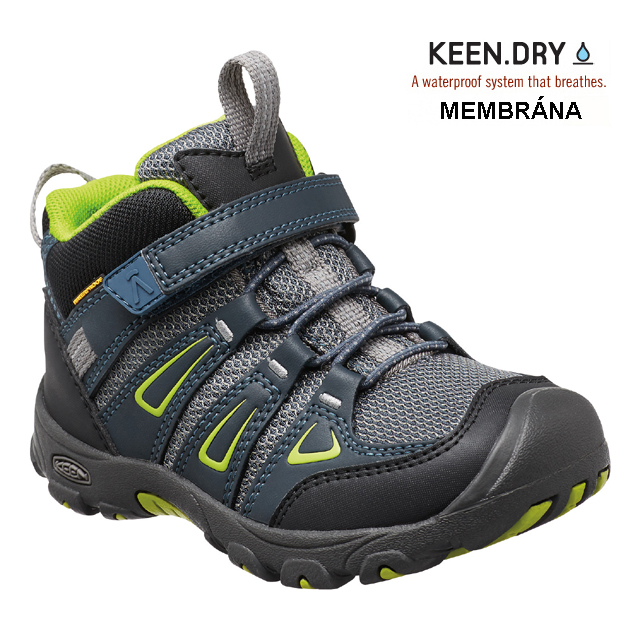 Keen OAKRIDGE WP K, midnight navy/macaw