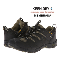 Keen Koven Low WP Black/Burnt olive