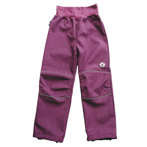 Kukadloo letní softshellové kalhoty ostružinové