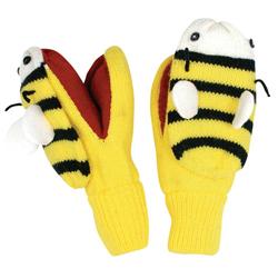 Kidorable dětské palcové rukavice Včelka 3-6 let