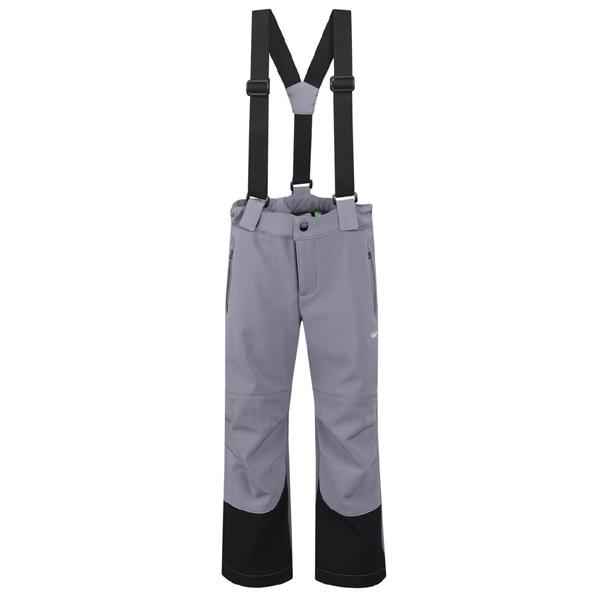 LOAP KIDS CESMINA softshellové kalhoty šedé