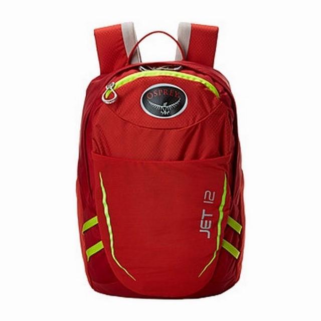 OSPREY dětský batoh Jet 12, strawberry red