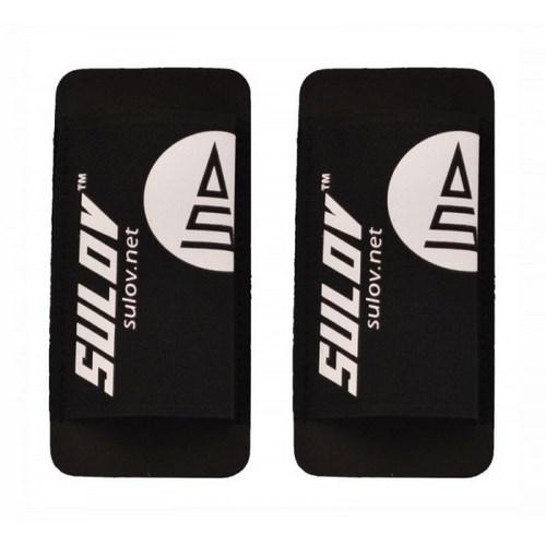 SULOV pásky na běžecké lyže, černo-bílé
