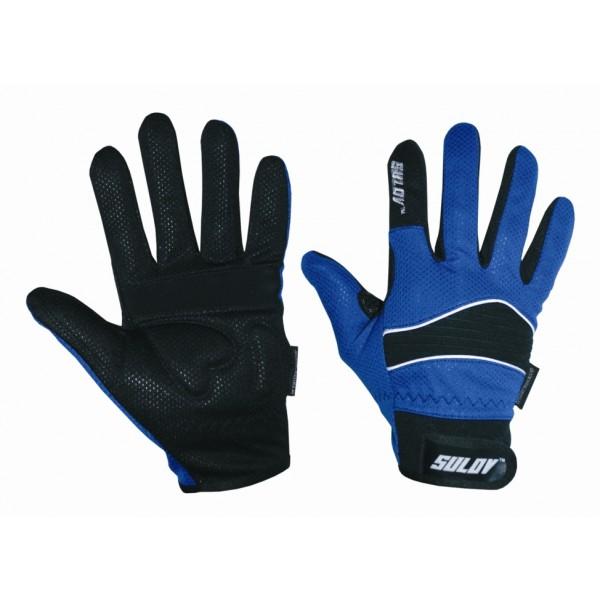 SULOV zimní rukavice pro běžky i cyklo, modré/M