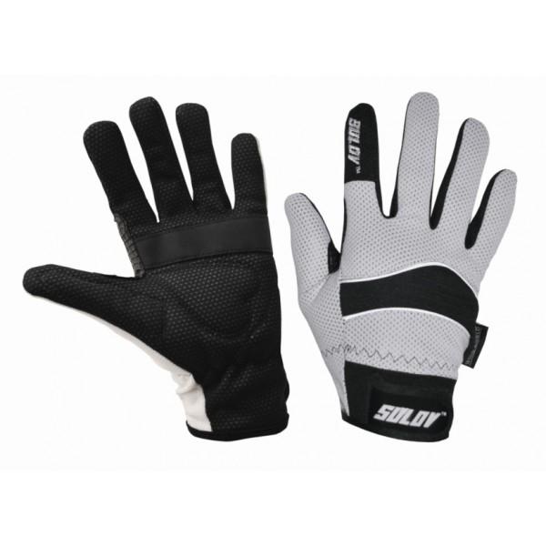 SULOV zimní rukavice pro běžky i cyklo, bílé/M