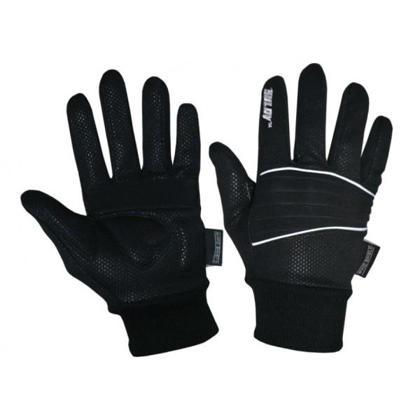 SULOV zimní rukavice pro běžky i cyklo, černé/L