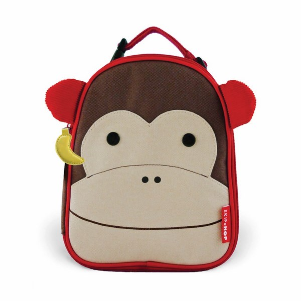 SKIP HOP Zoo Svačinová taška Opička
