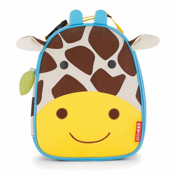 SKIP HOP Zoo Svačinová taška Žirafa