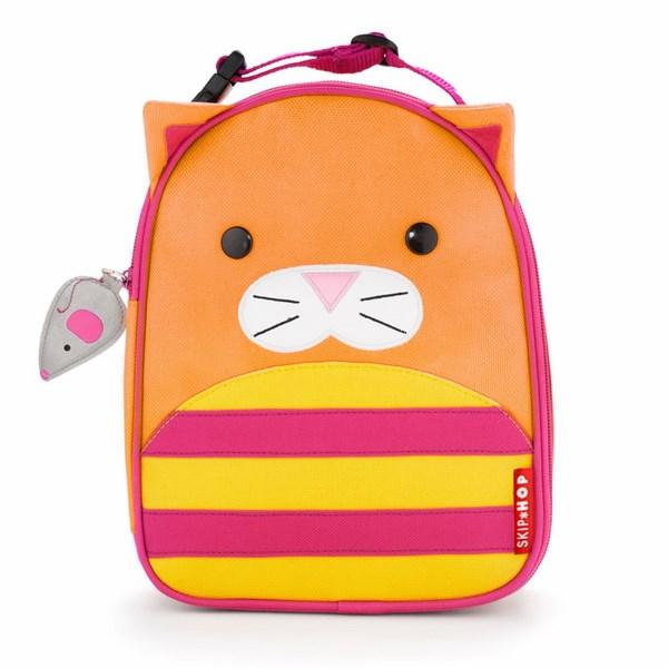 SKIP HOP Zoo Svačinová taška Kočička