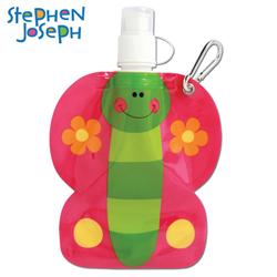 STEPHEN JOSEPH dětská plastová lahvička Motýlek
