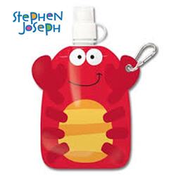 STEPHEN JOSEPH dětská plastová lahvička Krab